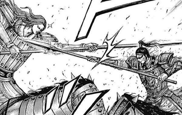 王賁と戦う紫伯